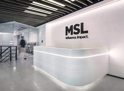 来自MSL明思力上海办公室装修设计分享