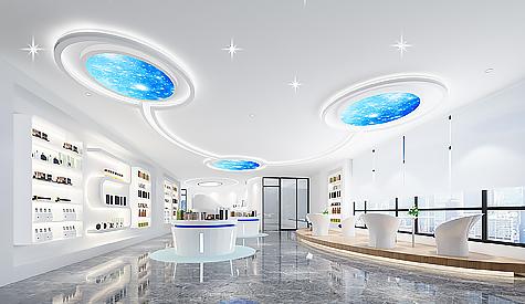 广州力海生物医药办公室装修设计