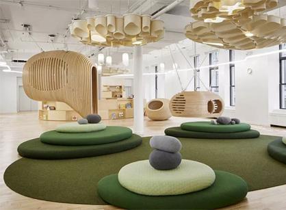 分享一下WeWork在纽约总部开设的微学校装修设计