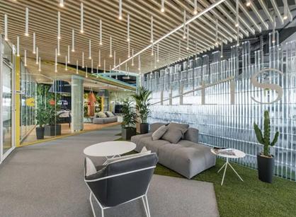 HELIS科技公司立陶宛办公室装修设计