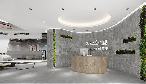广州指优镇创美甲用品空间装修设计