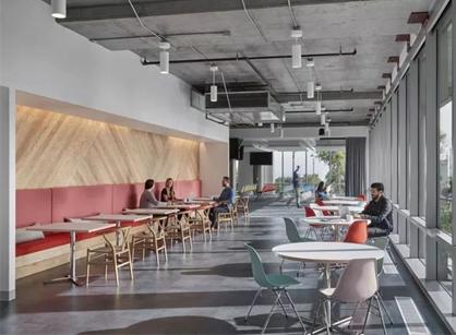 Meraki思科旧金山办公室装修设计空间案例分享