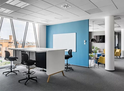TBSCG数字营销集团波兰办公室装修设计分享