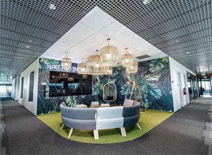 位于波兰卡托维兹的全球管理咨询公司办公室设计装修空间