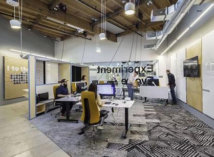 LinkedIn领英硅谷办公室空间探索装修设计
