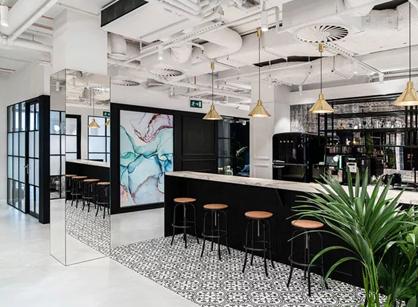 Solutions Rent联合办公室华沙办公室设计空间