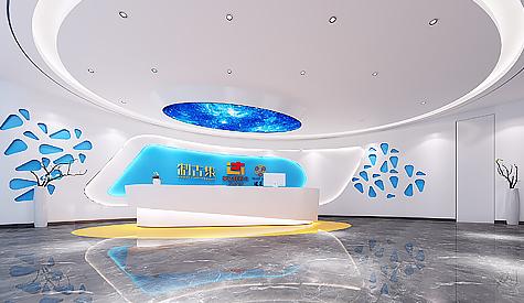广东英达辉药业办公室装修设计