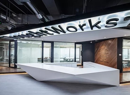 分享Thoughtworks软件设计和定制上海办公室设计