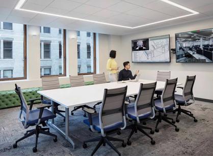 Zillow Group美国房产信息平台纽约办公室装修设计分享