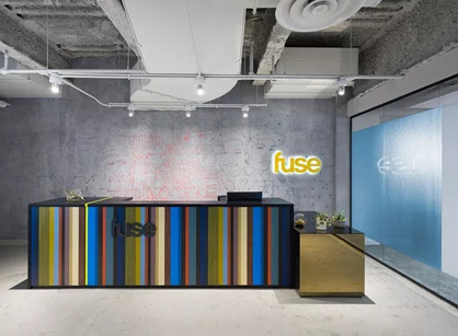 来自Fuse音乐媒体纽约总部办公设计分享