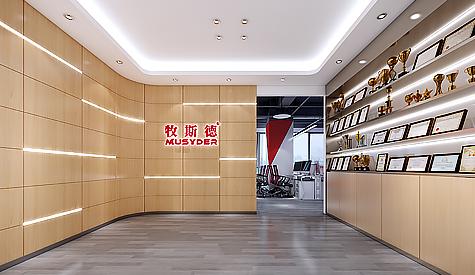 广州集牧农牧科技办公室装修设计