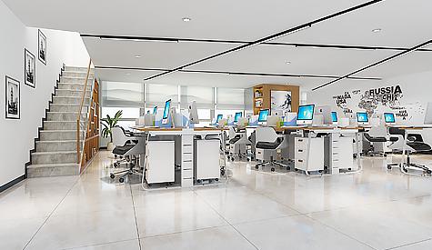 广州艺助春雨慈善基金会办公室设计