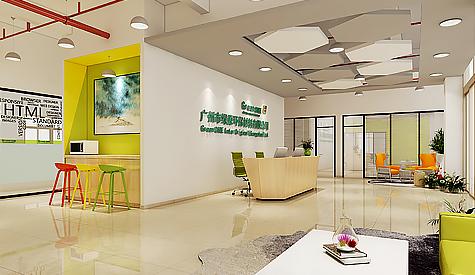 广州市绿原环保材料办公室装修设计