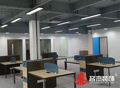 巡工地日记,佛山菱悦科技办公室装修项目进行中