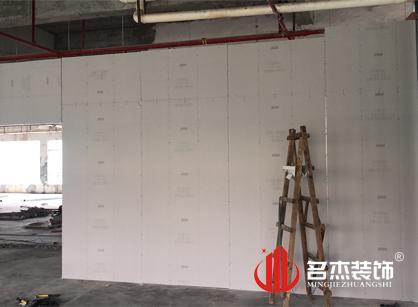 巡工地日记,广州智赢时装办公室装修项目进行中