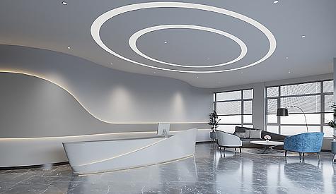 广州智赢时装办公室装修设计