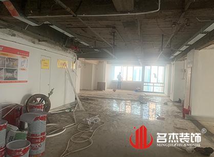 巡工地日记,广州金账本办公室装修项目进行中