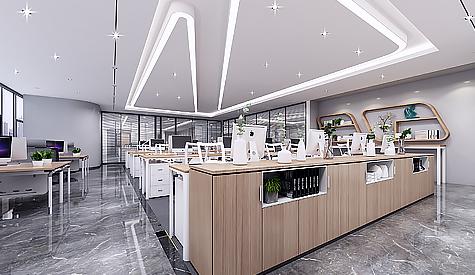 广州市祥鑫水电安装办公室装修设计