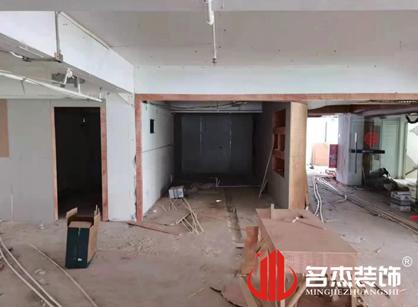 巡工地日记,广州理想资讯科技办公室装修项目进行中