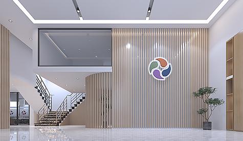 广州市泰盟科技办公室装修设计