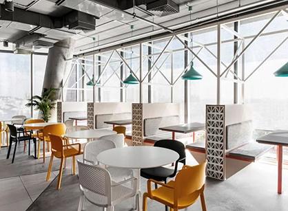 Akamai科技公司特拉维夫办公室装修设计空间