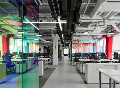 Lamoda时尚电商办公室装修设计空间是怎样做的