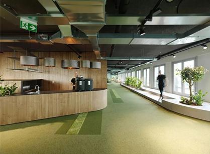 SAP德国软件巨头维也纳是怎样装修出有浪漫气质的办公室空间