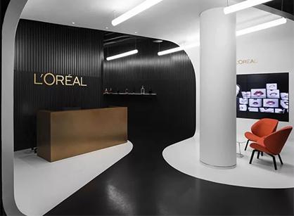 欧莱雅莫斯科办公室装修设计空间是怎样做的?