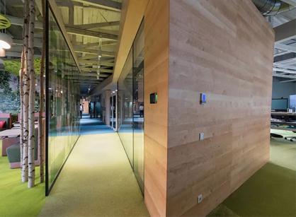 Schaeffler舍弗勒数字转换中心办公空间设计装修怎么样去完成