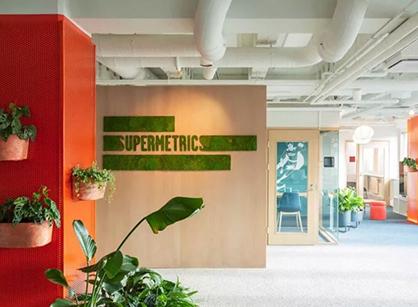 Supermetrics犹如花园般的办公室装修设计空间是怎样做到的