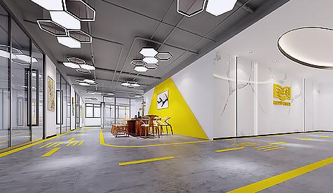 广州金账本共享办公空间装修设计
