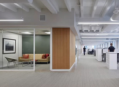 Parameters办公家具服务商展厅和办公室结合的设计是怎样的