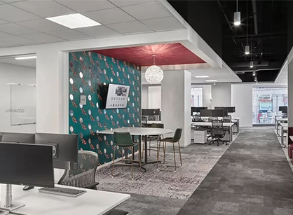 Wayfair家居电商巨头波士顿的办公室装修设计空间改造设计
